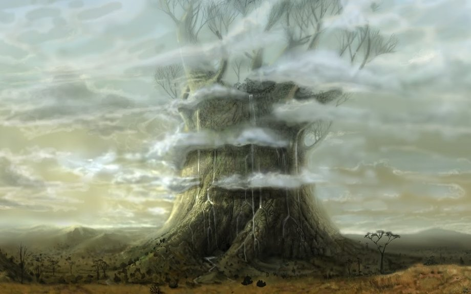 Trees Once Towered Above the Sun Moon & Stars on Flat Earth