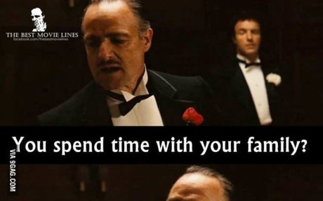 - The Godfather.