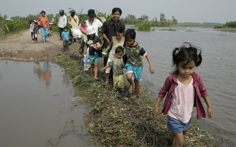 Rank 7: Impacts of climate change on places and people- migration