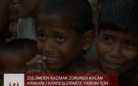 Hayrat Yardım'ın Arakan İçin Yardım Kampanyası Acil Yaz 3674'e Gönder