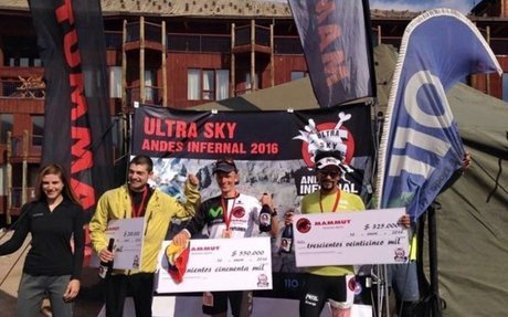 El ultra atleta ecuatoriano Karl Egloff gana el Mammut Andes Infernal 2016 en Chile | ANDE