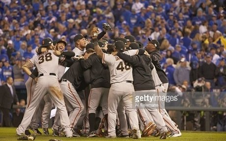 giants winning the world series