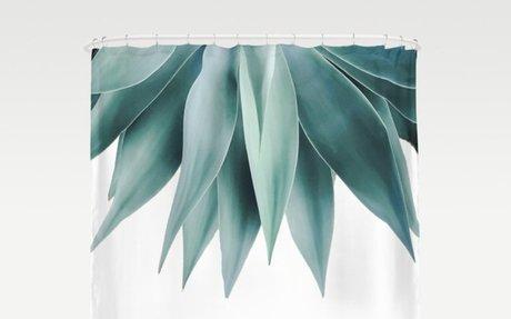 Agave fringe Shower Curtain