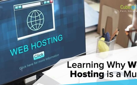 Learning Why Web Hosting is a Must