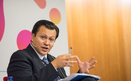 """Carlos Vargas: """"L'educació ha de trascendir la noció de qualificació: ha de socialitzar"""""""