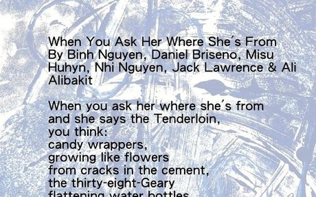WHEN YOU ASK HER WHERE SHE'S FROM By Misu, Binh, Jack & Ali, age 9 and Nhi & Daniel, age 1