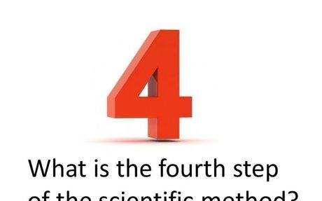fourth step scientific method - Google Search