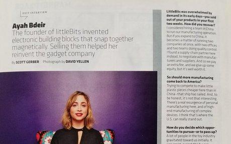 Inc.: How littleBits' Ayah Bdeir Makes Complex Technology Simple