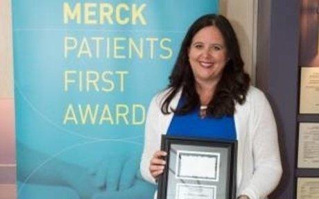 IWK doctor receives Merck Patients First Award