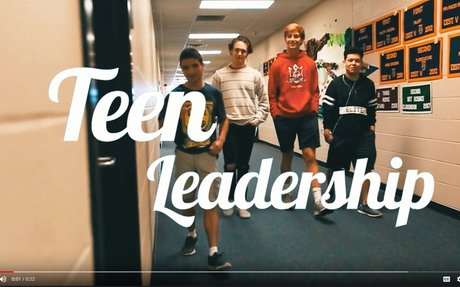 Teen Leadership course for 2018-2019