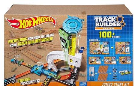 Hot Wheels Track Builder Ultimate Jumbo Stunt Kit