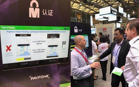 Payfone Demonstrates How SMS Hijack Attacks Can Be Prevented at MWC Shanghai