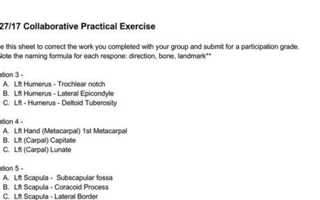 9/27/17 Collaborative Practical Exercise