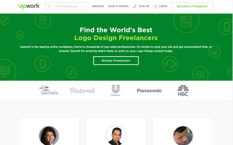 Upword: Hire a Logo Design Pro