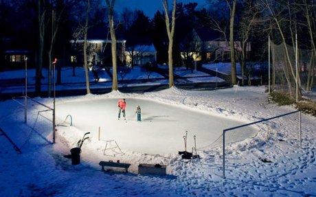 Herrick's Ice Skating Rink