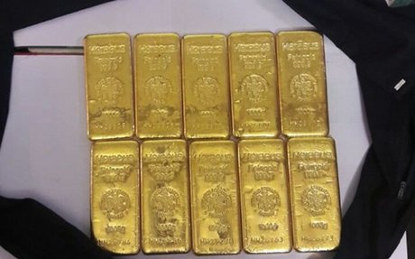 Delhi: Customs seized 10 kg gold from a passenger with Indian passport