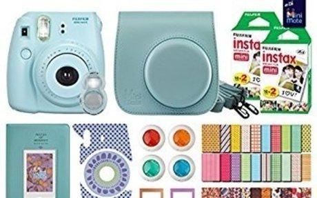 Amazon.com : MiniMate FujiFilm Instax Mini 8 Camera with 40 Instax Film and Accessory Bund
