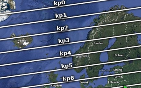 All about the Kp index - Aurora Service (Europe)