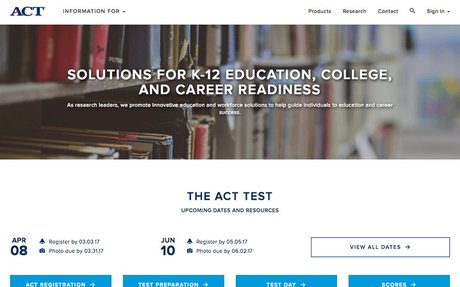 The ACT Test for Students