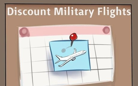 The Best Ever Discount For Military Flights