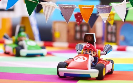 BRAND HIGHLIGHT // Mario Kart Live: Home Circuit Uses Augmented Reality