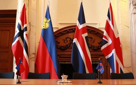UK and EEA EFTA States sign Separation Agreement