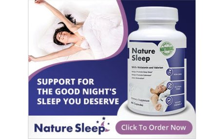 Nature Sleep Official Store | Natural Sleep Aid To Get A Better Night's Sleep