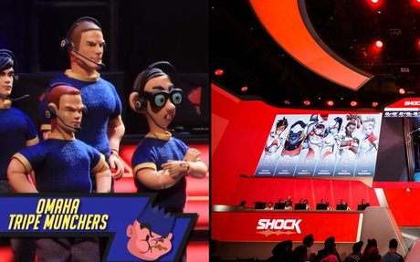 Over-the-top Robot Chicken segment parodies Overwatch League and esports | Dexerto.com
