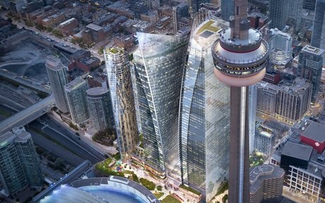 Oxford Properties Mega-Project to Add 200,000 Sq Ft of Retail Space in Downtown Toronto...