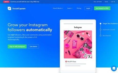 SocialCaptain is the best Instagram automation platform
