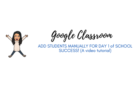 Add Students to Classroom Manually or with Link!