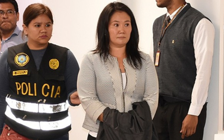 Keiko Fujimori: jueza dirimente redujo prisión preventiva a 18 meses