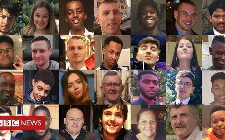UK stabbings: 100 lives lost in 2019