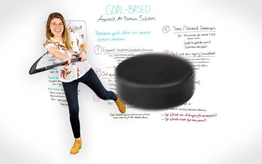 The Goal-Based Approach to Domain Selection - Whiteboard Friday
