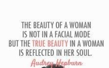 beauty on the inside/ audrey hepburn - Google Search