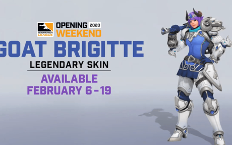 Players will be able to purchase GOAT Brigitte, reminding them of the game's controvers...