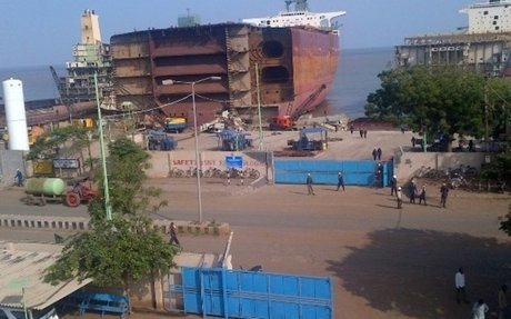 Training in Alang's Ship Recycling Industry