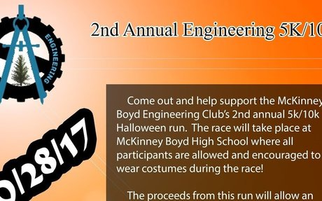 Flyer for Fun Run Engineering