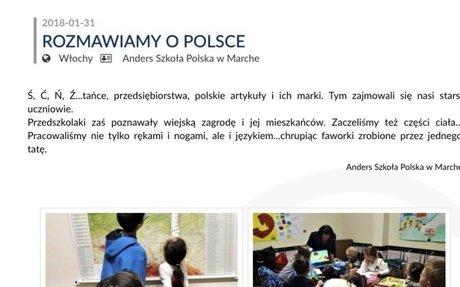 WIADOMOŚCI : ŚWIAT POLONII - ROZMAWIAMY O POLSCE