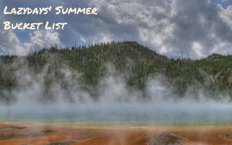 The Best Summer National Park Adventures with RV Rentals