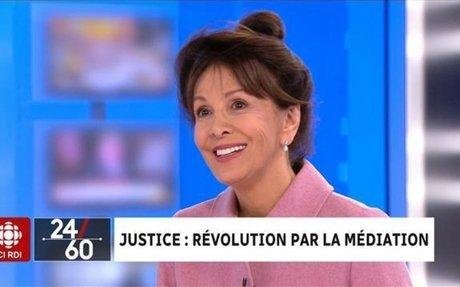 Justice : révolution par la médiation | Segment | 24|60 | ICI RDI