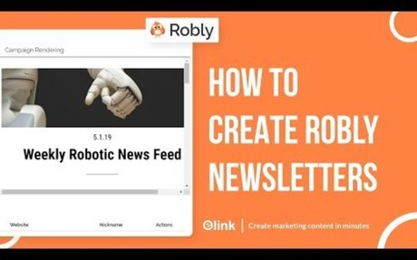 How to Create Robly Email Newsletters in Minutes