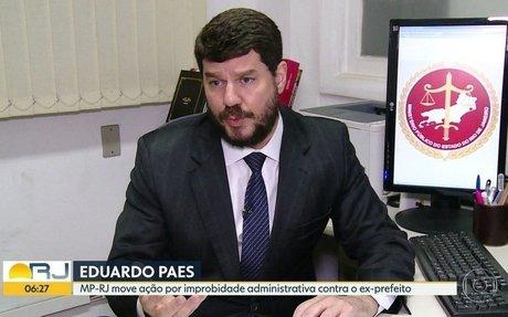 Ministério Público do Rio move ação contra o ex-prefeito Eduardo Paes
