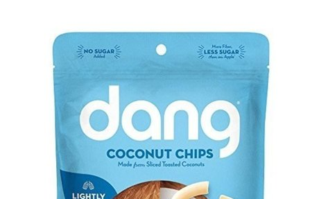 Dang Gluten Free Lightly Salted, Toasted Unsweetened Coconut Chips