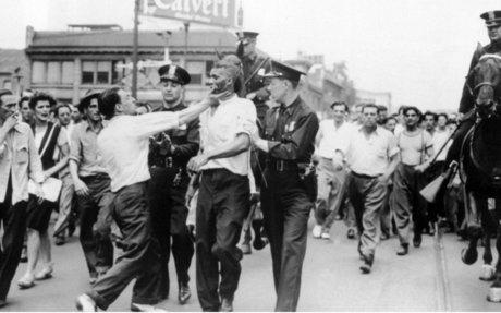 Race Riot in Downtown Detroit, 1943