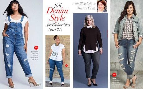 Fall Denim Style for Fashionistas Sizes 24+