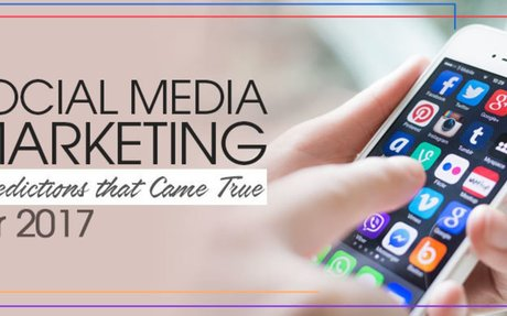 Social Media Marketing Predictions that Came True for 2017 - Infographics -