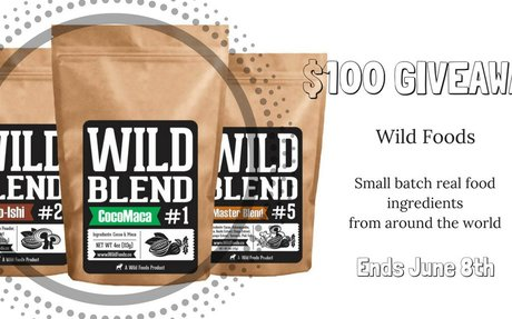 $100 Wild Foods Gift Certificate Giveaway