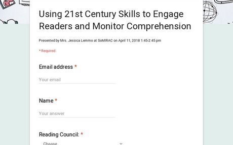 Using 21st Century Skills to Engage Readers and Monitor Comprehension
