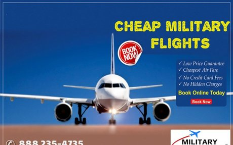 How Cheap Flights For Military Help You Save More!